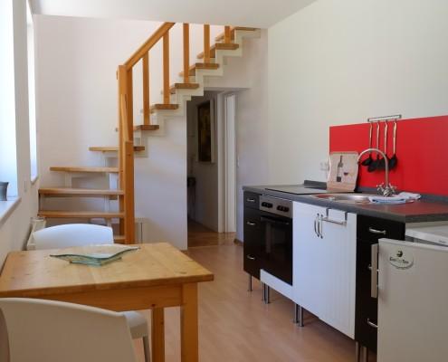 Die Küche im Kutscherhaus