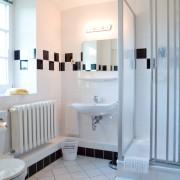 Ferienwohnung Eins - stilvolles Badezimmer