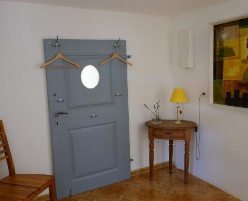 Der Eingangsbereich im Kutscherhaus