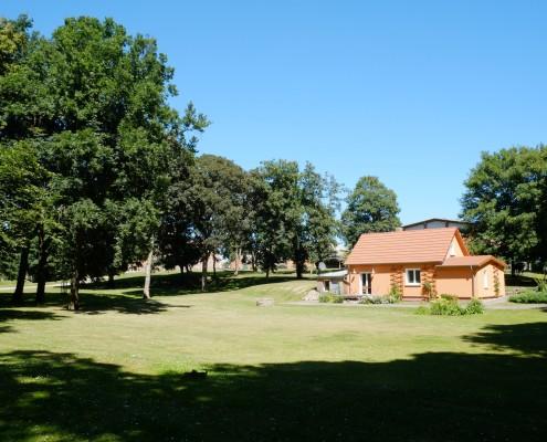 Das Kutscherhaus im Schlosspark Zinzow