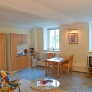 Ferienwohnung Eins - Hauptraum mit Küche