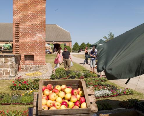 Maiglöckchenmarkt auf der Gutsanlage Zinzow