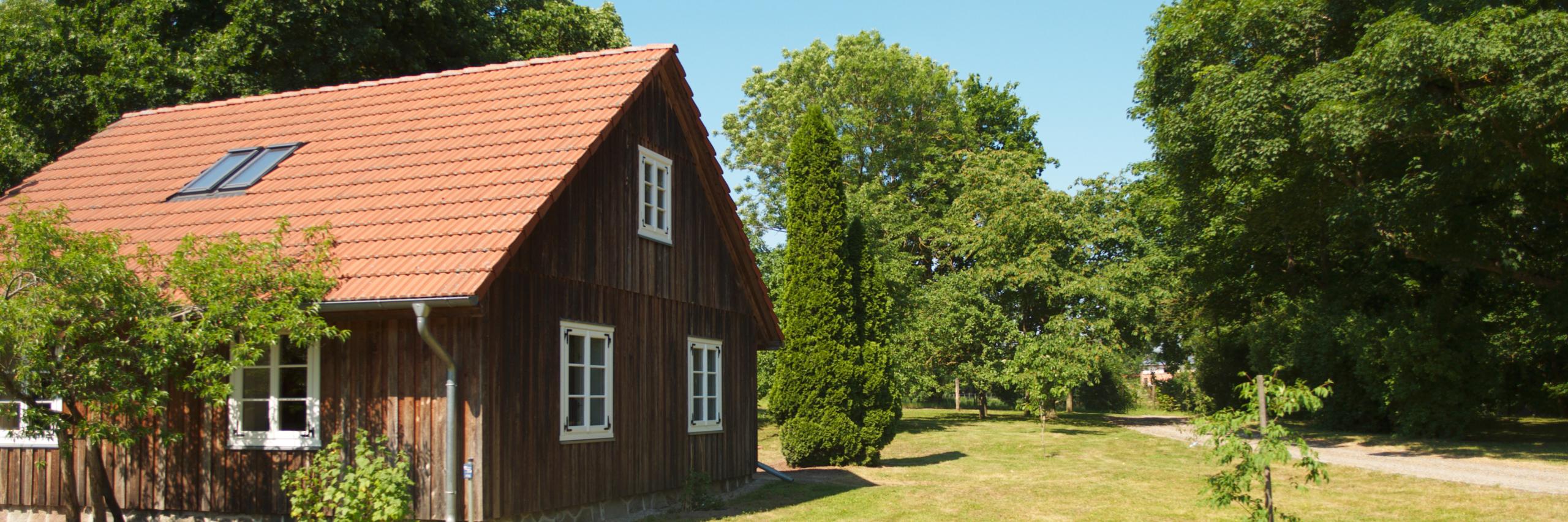 Das Gärtnerhaus - ein Ferienhaus im Schlosspark des Guts Zinzow
